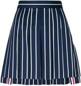 Thom Browne striped pleated mini skirt