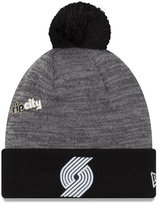 New Era Portland Trail Blazers Pin Pom Knit Hat