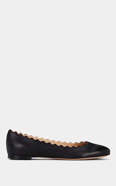 Chloé Women's Lauren Leather Flats - Black