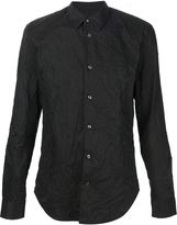Maison Margiela creased effect shirt - men - Cotton/Polyester - 41
