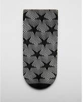 Express star print mesh ankle socks