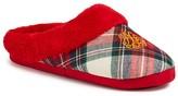 Ralph Lauren Plaid Slippers