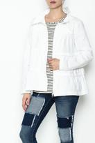 Neon Buddha White Ruffle Jacket