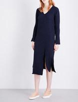 Drifter Agatha cotton-blend midi dress