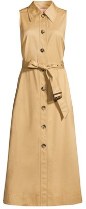 Kate Spade Sleeveless Trench Shirtdress