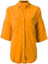 Andrea Marques - silk shirt - women - Silk - 38