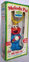 Sesame Street Ernie, Musical Take Along, Melody Pal, Carseat, Stroller Toy
