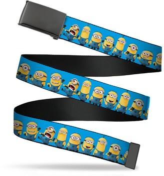 """Buckle Down Buckle-Down Men's Buckle-Down Web Belt Minions 1.5"""""""