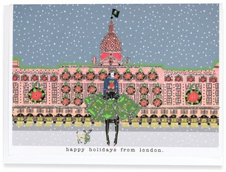 Verrier x Harrods Store Christmas Card
