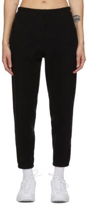 Gil Rodriguez Black Sherpa Beachwood Lounge Pants