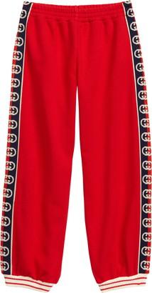Gucci Interlocking-G Logo Cotton Joggers
