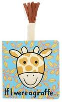 Jellycat Toddler 'If I Were A Giraffe' Book