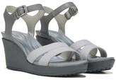 Crocs Women's Leigh II Ankle Strap Wedge Sandal