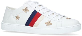 Gucci Embroidered Ace Sneakers
