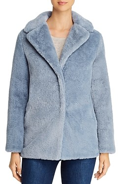 T Tahari Faux Fur Teddy Coat