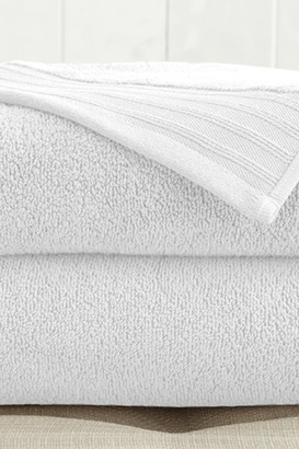 Oversized Quick Dry Bath Sheets - Set of 2 - White