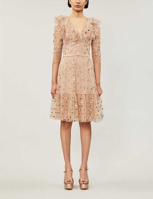Temperley London Fortuna ruffled tulle mini dress