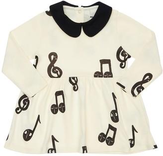 Mini Rodini Printed Organic Cotton Jersey Dress