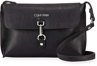 Iconic American Designer Faux-Leather Small Crossbody Bag