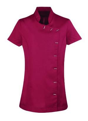 Workwear World WW2 Jemy Oriental Beauty Tunic Uniform for Massage Therapist Nail Salon Spa (, )