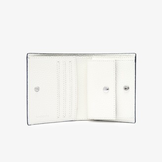 Lacoste Women's Anna Small Snap Folding Wallet