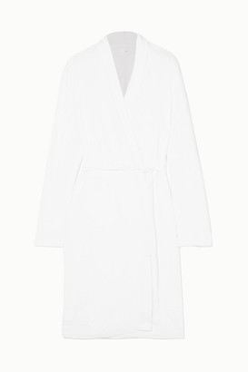 Skin Cotton-terry Robe - White