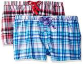 Bottoms Out Women's Flannel Sleep Short (Pack of 2)