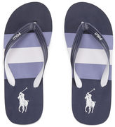 Polo Ralph Lauren Men's Whittlebury II Flip Flops Navy Multi