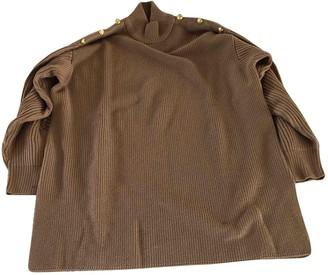 Genny Camel Wool Knitwear for Women