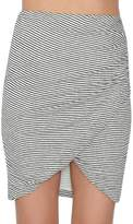Alice + Olivia Arminda Faux-Wrap Skirt