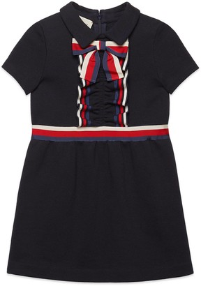 Gucci Children's cotton dress with Web