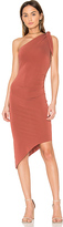 Bec & Bridge Titania Asymmetrical Midi Dress in Red