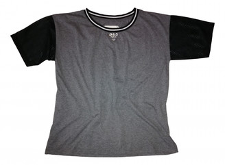 Gaelle Bonheur Grey Cotton Top for Women