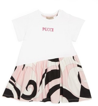 Emilio Pucci Junior Heliconia Print T-Shirt Dress (3-24 Months)