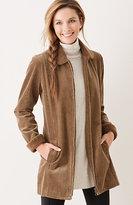 J. Jill Tumbled Cord Coat