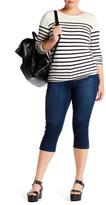 Melissa McCarthy Basic Crop Jean (Plus Size)