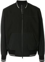 Blackbarrett skull-print bomber jacket
