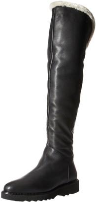 Aquatalia Women's Kiara Tumbled CLF/Shearling Boot