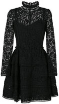 Ermanno Scervino lace embroidered flared dress