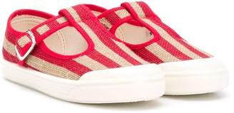 Pépé Striped 10mm Sandals