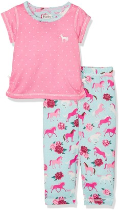 Hatley Girl's Polyester Short Sleeve Pyjama Set