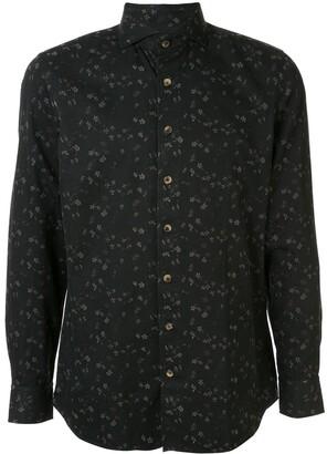 Lardini floral pattern shirt