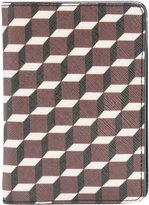 Pierre Hardy geometric print passport holder