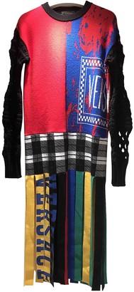 Versace Multicolour Wool Dresses
