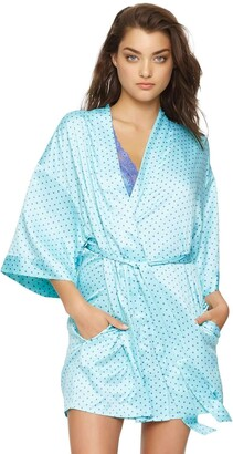 Jezebel Women's Muse Kimono with Satin Tie