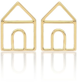 ALIITA Casita Pura 9kt gold earrings