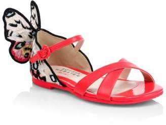 Sophia Webster Baby's & Little Girl's & Girl's Chiara Embroidered Butterfly Sandals