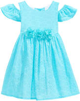 Good Lad Cold Shoulder Eyelet Dress, Toddler Girls