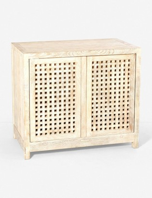 Lulu & Georgia Sandra Small Cabinet, Cream