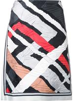 Emilio Pucci geometric print skirt - women - Silk - 42